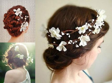 第12期:2014年新娘发型 幸福花嫁优雅迷人--枣邦_国内