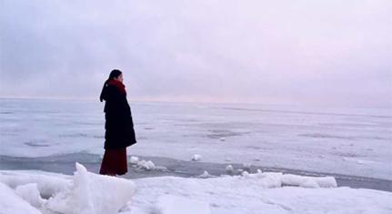青藏线遇见青海湖