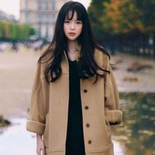 冬季服装呢子大衣如何搭配 宽大长款外套御寒不臃肿